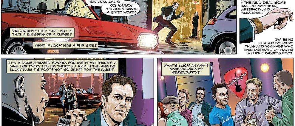 Lucy Man Stan Lee - Brian Williamson